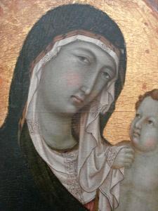 Ugolino_di_Nerio_1315_1320_La_Vierge_et_l_Enfant_Sienne_detail